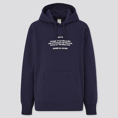 Men Louvre Museum Peter Saville UT Graphic Hoodie