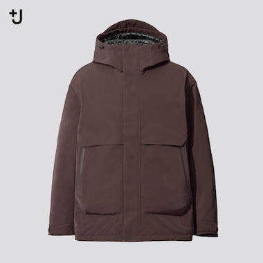 Men +J Hybrid Down Oversized Fit Parka