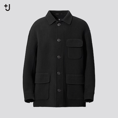 Men +J Double Faced Oversized Fit Work Jacket