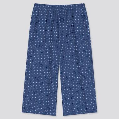 Damen Gepunktete AIRism RELACO Shorts in 3/4-Länge