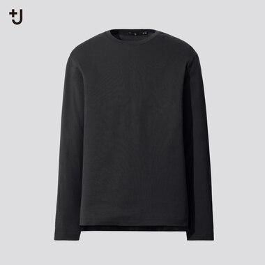 Men +J Supima Cotton Crew Neck Long Sleeved T-Shirt