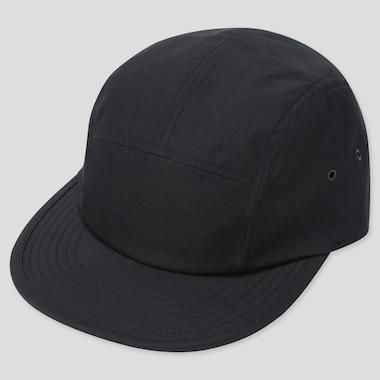 Uv Protection 5-Panel Cap, Black, Medium
