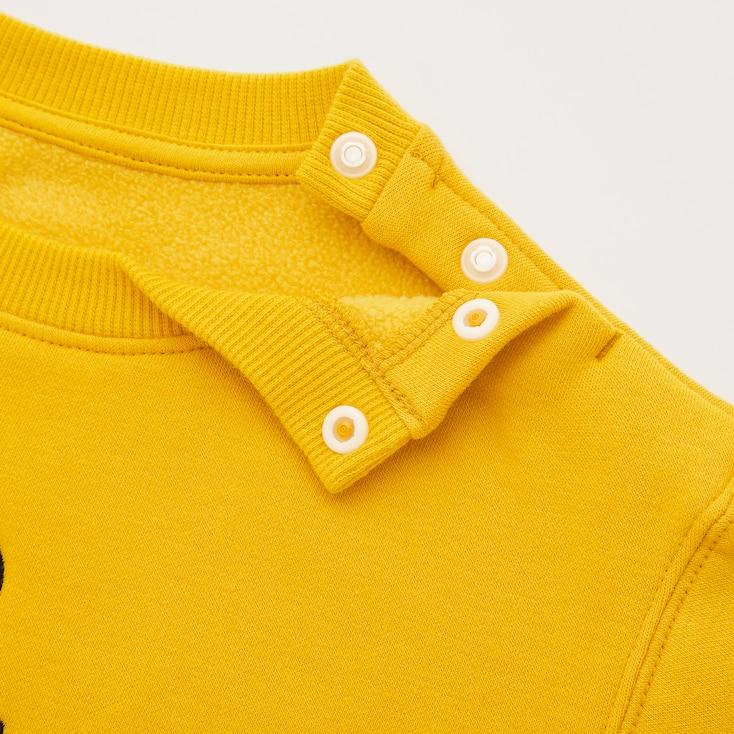 Toddler Peanuts Fleece-Backed Long-Sleeve Sweatshirt, Yellow, Large