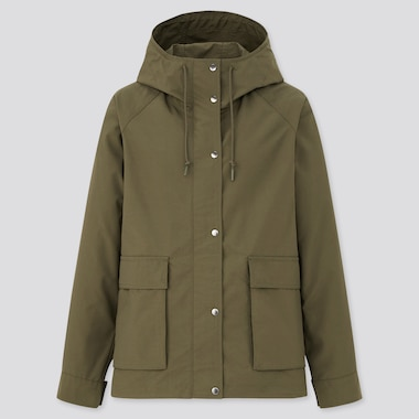 Women Oversized Fit Hooded Parka