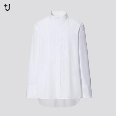 Women +J Supima Cotton Tucked Shirt