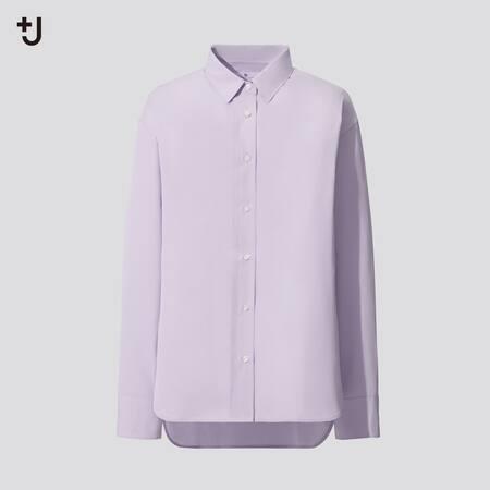 Women +J Supima Cotton Oversized Fit Shirt