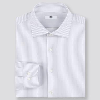 Camisa Fácil Cuidado Confort Slim Fit Rayas Hombre