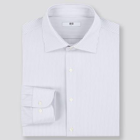 Men Easy Care Comfort Striped Shirt (Semi-Cutaway Collar)