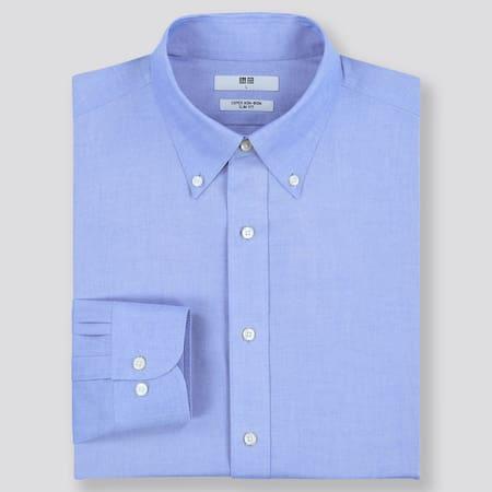 Herren Bügelfreies Hemd (Slim Fit)