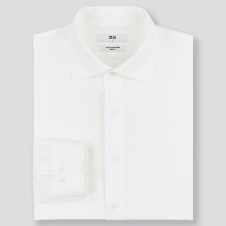 Men Super Non-Iron Slim Fit Shirt (Semi-Cutaway Collar)