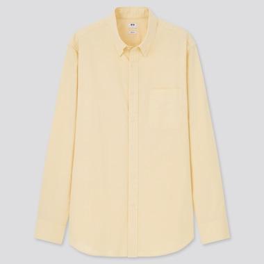 Men Slim Fit Oxford Shirt (Button-Down Collar)