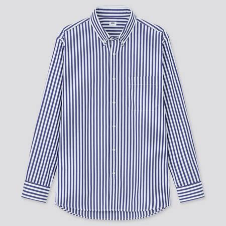 Gestreiftes Extra feine Baumwolle Hemd