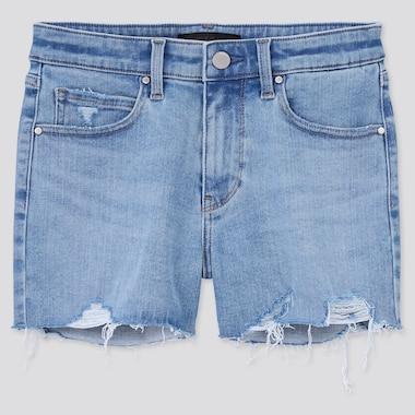Damen Ultra Stretch Jeansshorts