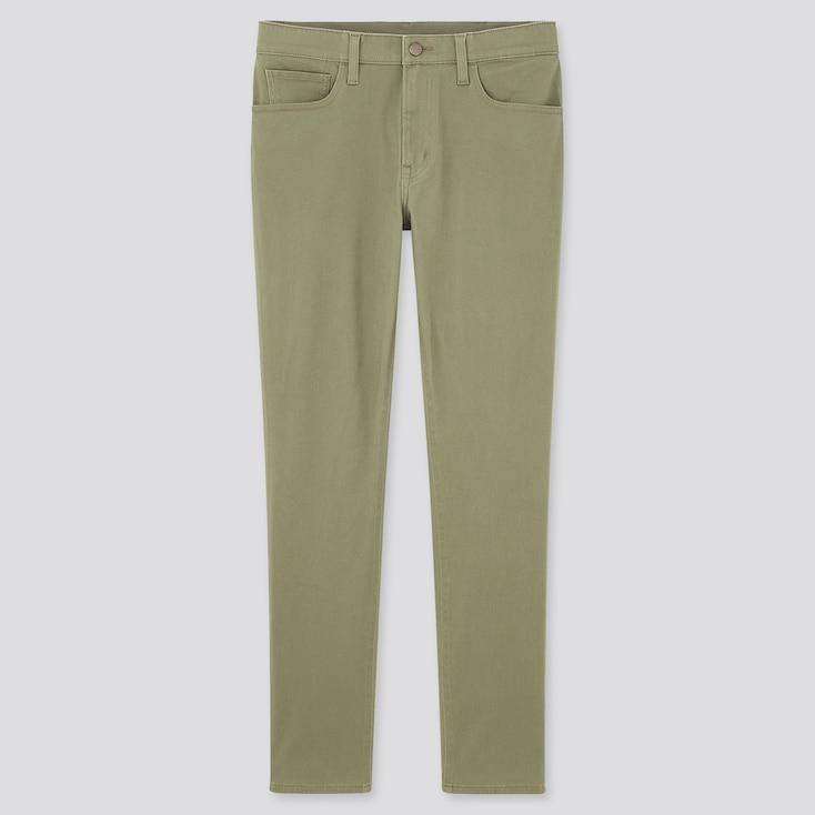 Men Ultra Stretch Skinny-Fit Color Jeans (Online Exclusive), Olive, Large