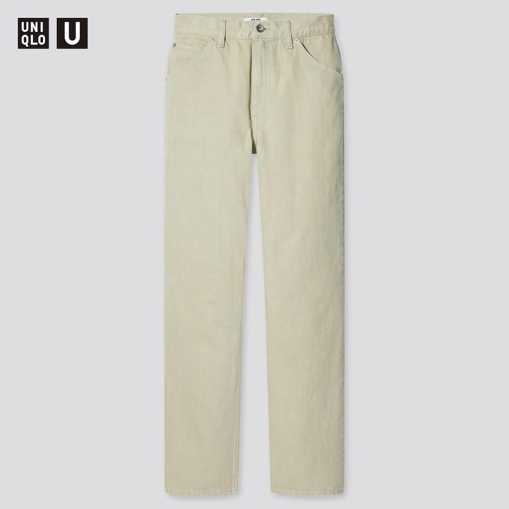 Women U Regular-Fit Straight Jeans, Light Green, Large