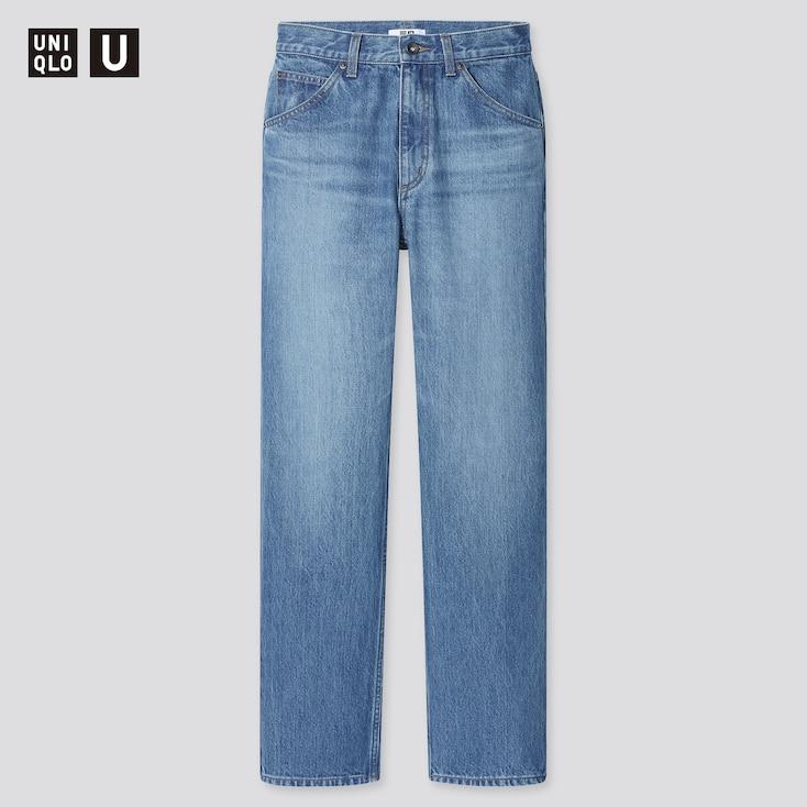 Women U Regular-Fit Straight Jeans, Blue, Large