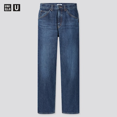Women U Regular-Fit Straight Jeans, Blue, Medium