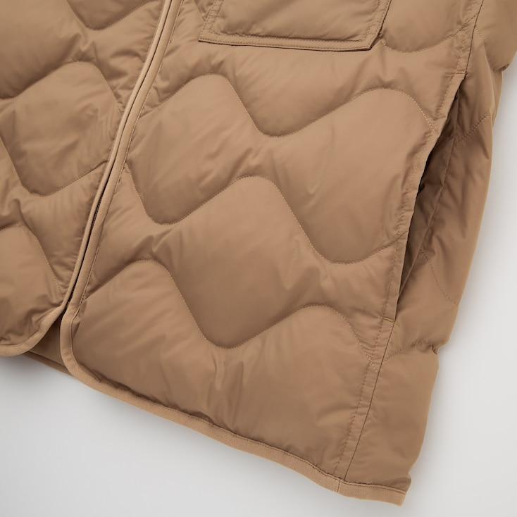 U Recycled Down Jacket, Dark Orange, Large
