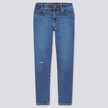 Kinder Ultra Stretch Jeans mit Reißverschluss in Vintageoptik (Slim Fit)