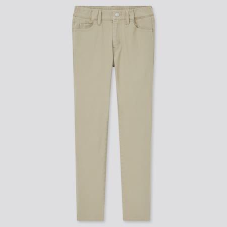 Kinder Ultra Stretch Slim Fit Hose mit Reißverschluss