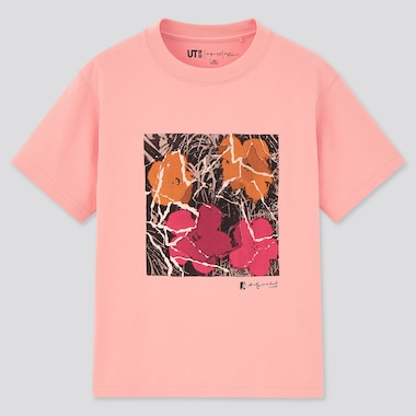 Kinder Andy Warhol x Kosuke Kawamura UT Bedrucktes T-Shirt