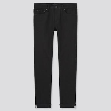Men Selvedge Stretch Slim Fit Jeans