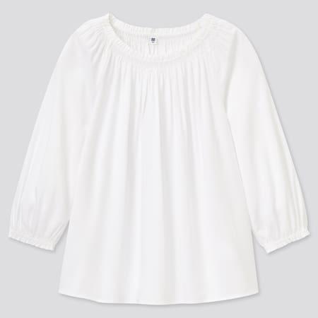 Girls 3/4 Sleeved Blouse