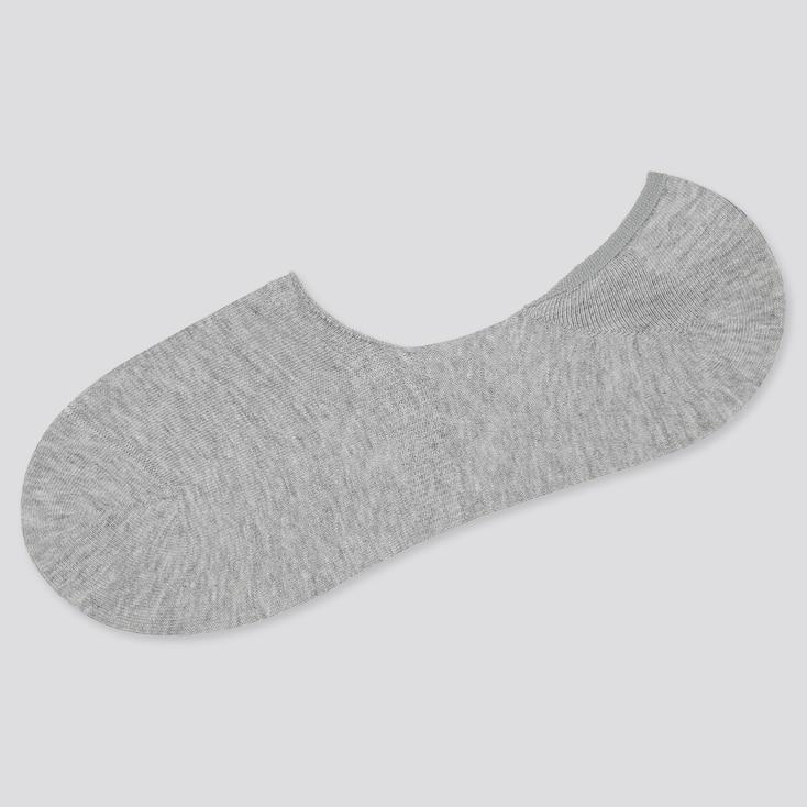 Men Low-Cut Socks, Gray, Large