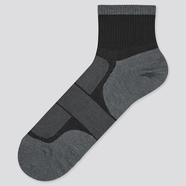 Men Colour Block Half Socks