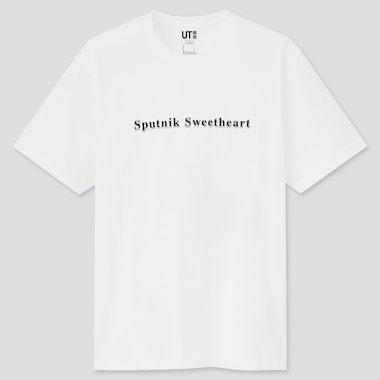 Men Haruki Murakami UT Graphic T-Shirt