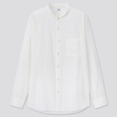 Men Soft Twill Shirt (Grandad Collar)