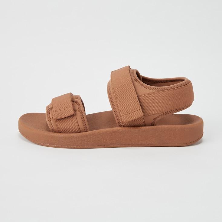 Men U Tape Sandals, Olive, Large