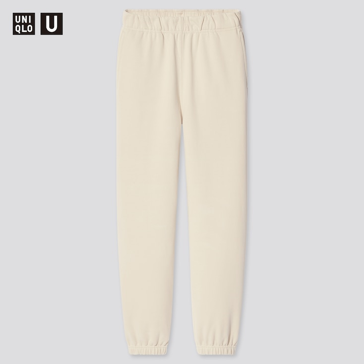 Women U Sweatpants, Natural, Large