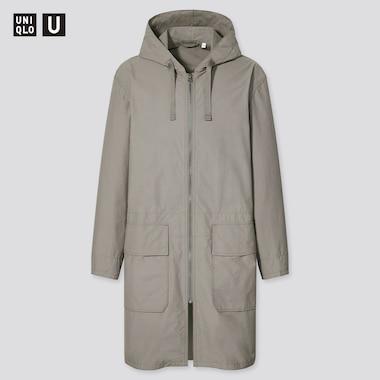 Manteau Uniqlo U à Capuche