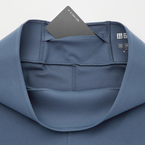 Hidden inside pocket on the back of the waistband
