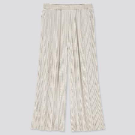 Women Chiffon Pleated Culottes (Long)