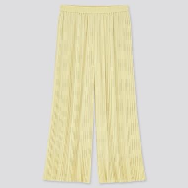 Falda Pantalón Plisada Chifón (Largo) Mujer