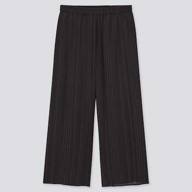 Women Chiffon Pleated Culottes