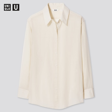 Damen UNIQLO U Transparente Bluse