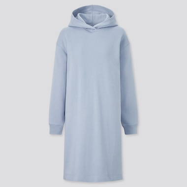 Women Sweat Hoodie Dress