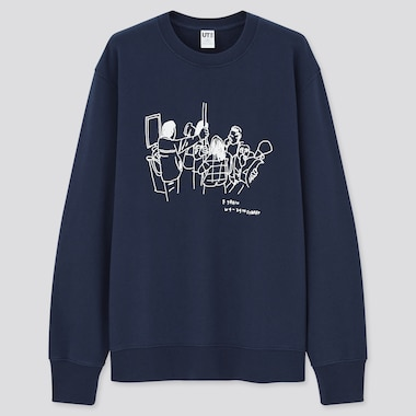 Men Jason Polan UT Graphic Sweatshirt