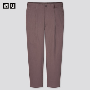 Men Uniqlo U Relaxed Fit Tapered Trousers