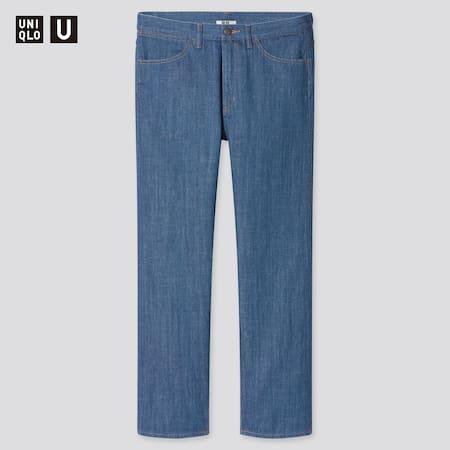 Men Uniqlo U Regular Fit Jeans