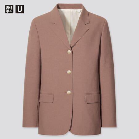 Women Uniqlo U Tailored Blazer Jacket