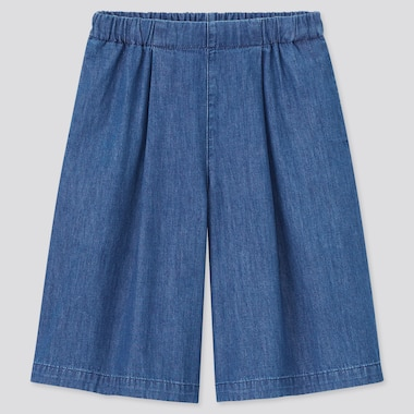 Girls Denim Culottes
