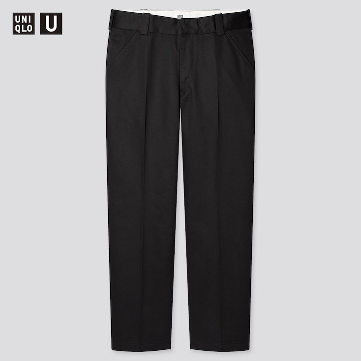 Men U Regular-Fit Work Pants, Black, Large