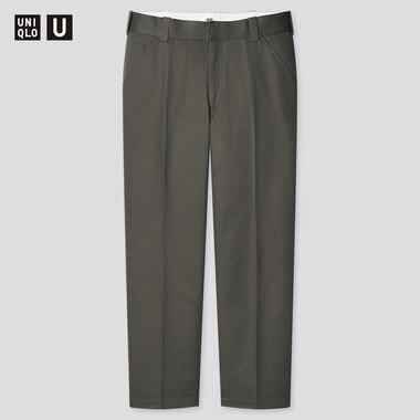 Men U Regular-Fit Work Pants, Olive, Medium