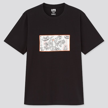 T-Shirt graphique UT Keith x Tokyo Homme