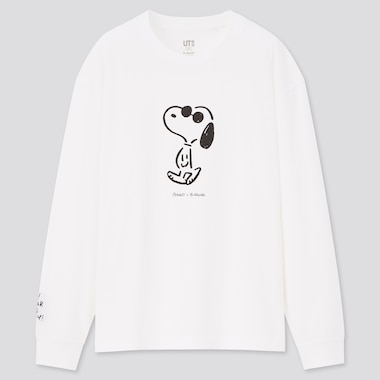 WOMEN Peanuts x Yu Nagaba UT Graphic Long Sleeved T-Shirt