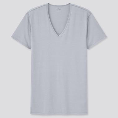 T-Shirt AIRism Collo A V Uomo